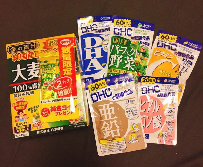 Thực phẩm chức năng DHC Nhật Bản